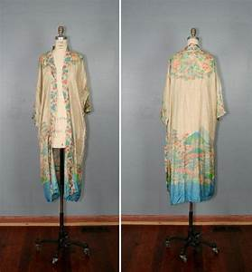 1920s kimono vintage silk robe 20s by With robe vintage love