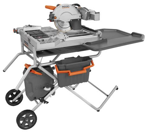ridgid tile saw ridgid r4090 tile saw quot the beast quot how to