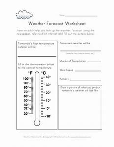 weather forecast worksheet daily activities pinterest With kids weather report template