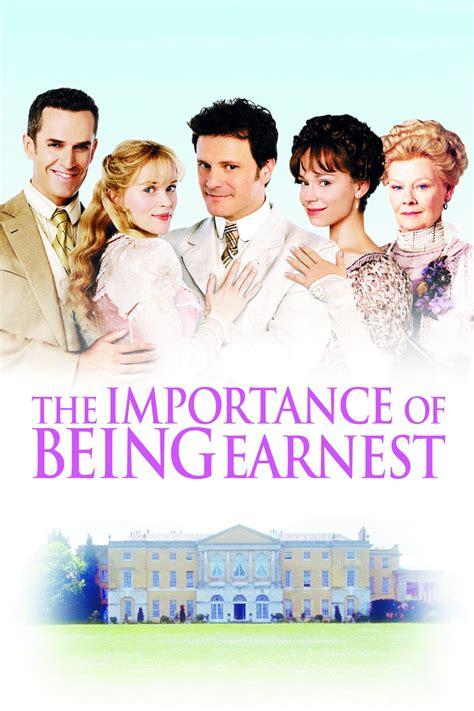 The Importance Of Being Earnest (2002)  Posters — The Movie Database (tmdb
