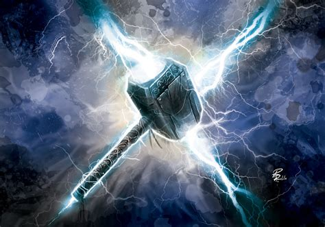 mjolnir by shiprock on deviantart