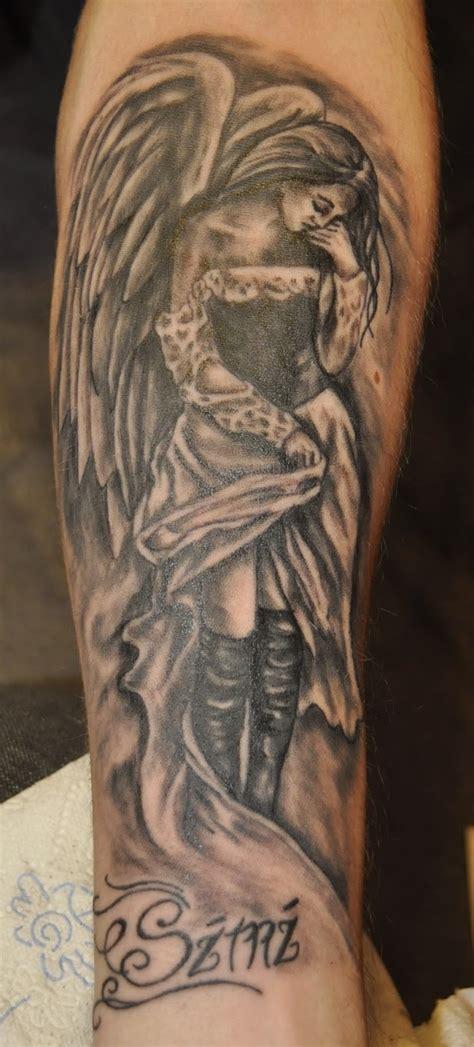 Ange Dechu Tattoos