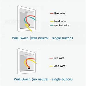 Light Switch No Neutral Wire
