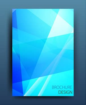 Abstract Wallpaper Design For School by Trifold Brochure Design With Colorful Hexagon Illustration