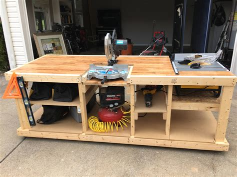 built  mobile workbench projects     mobile workbench table  workbench