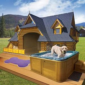 diy doghouses dog houses dog and house With cool dog kennel designs