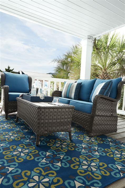 abbots court blue and gray lounge chair set of 2 p360 820