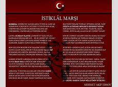 İstiklal Marşı 10 kıta, İstiklal Marşı 10 Kıtası açıklaması