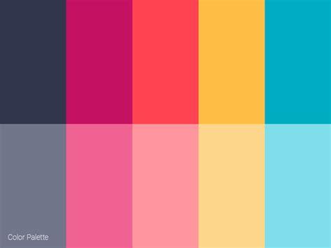 Color Palette By Vasil Yordanov  Dribbble
