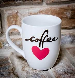 Mug à Thé : coffee love mug diy albion gould ~ Teatrodelosmanantiales.com Idées de Décoration