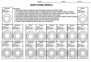 Writing Blank Bohr Model Worksheet Google Search Science 9