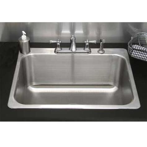 Drop In Utility Sink With Drainboard by Residential Drop In Laundry Sink 24 Quot L X 18 Quot W X 14 Quot D No