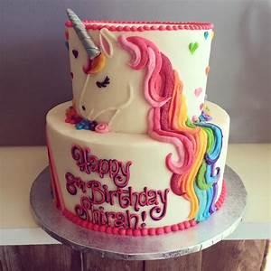 HayleyCakes and Cookies - unicorn cake Cakes and dessert