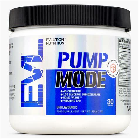 EVL Nutrition - Pump Mode - TRU·FIT