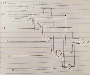 How To Design A 4 By 1 Multiplexer Using Nand Or Nor Gates