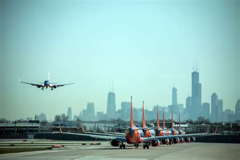 Midway Airport Landing