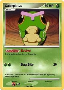 Pokémon Caterpie 84 84 - Evolve - My Pokemon Card