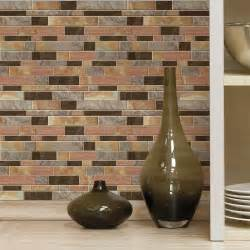 Stick On Kitchen Backsplash Tiles 4 Pack Peel And Stick Decals Kitchen Bathroom Backsplash Wall Tile 10 5 Quot X 10 5 Ebay