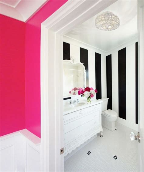 elle decor bathroom stripes mydreamhome pinterest
