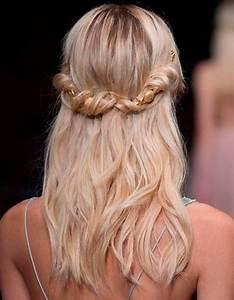 Coiffure Pour Cheveux Mi Longs : coiffure cheveux mi longs torsad s cheveux mi longs nos id es de coiffures tendances elle ~ Melissatoandfro.com Idées de Décoration
