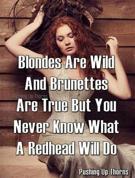 blondes  wild  brunettes  true