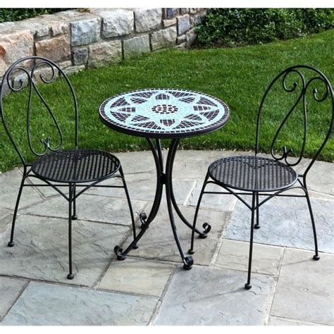 Small Outside Table And Chairs by Small Outdoor Bistro Table Awesome Modern White