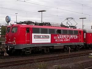 Stiebel Eltron Deutschland : die 110 243 3 zieht seit gestern den stiebel eltron werbezug durch deutschland das foto stammt ~ Markanthonyermac.com Haus und Dekorationen