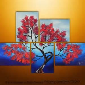Tree Multiple Canvas Painting Ideas