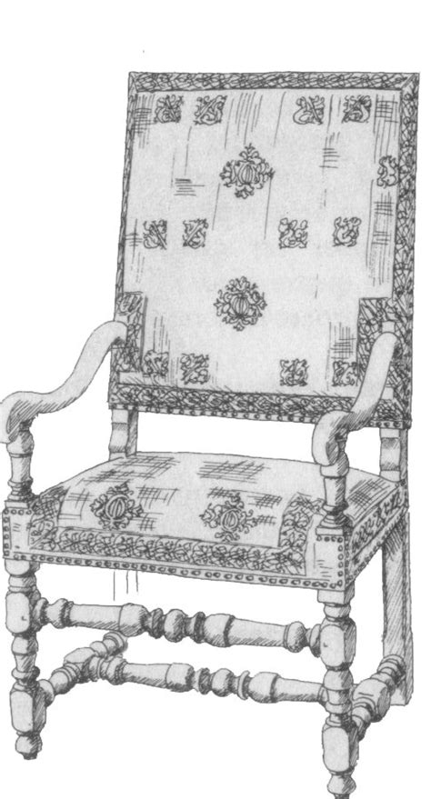 chaise louis xiii a la recherche du temps perdu