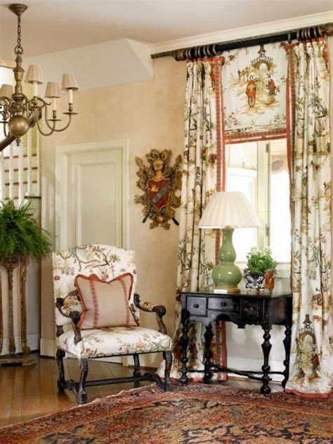 Country Window Treatments by Perfection Via Francie Hargrove The Window Treatment Is