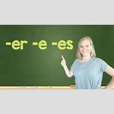 German Lesson (135)  Adjective Endings  Nominative  Definite And Indefinite Articles A2