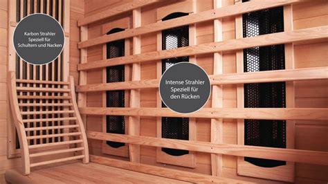 sauna infrarot kombi sauna infrarot kombi kaufen supersauna de