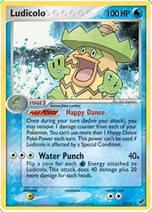 Ludicolo - EX Deoxys #19 Pokemon Card
