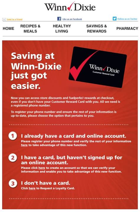 winn dixie phone number winn dixie now you can use your phone number in place of