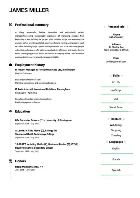 Building A Resume by Resume Builder Create A Resume In 5 Minutes