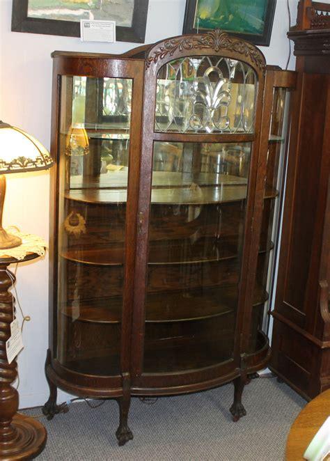 bargain johns antiques antique oak china cabinet