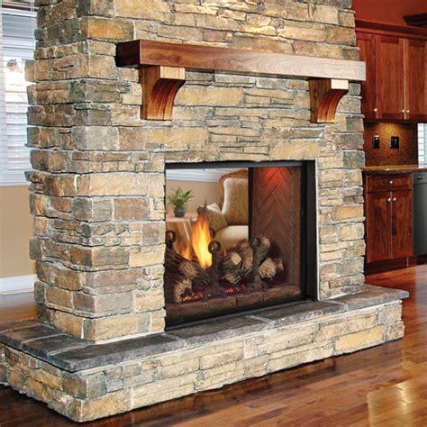 see through fireplace direct vent fireplaces direct vent stoves and inserts