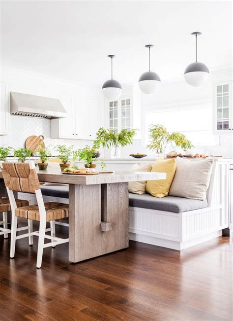 kitchen with breakfast nook designs these breakfast nook ideas are chic for any meal mydomaine 8740