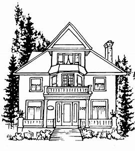 Line Drawing House - ClipArt Best