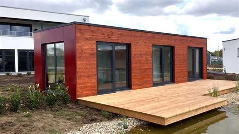 Moderne Häuser In Holzständerbauweise by Haus Aus Container Container Haus Container Architektur