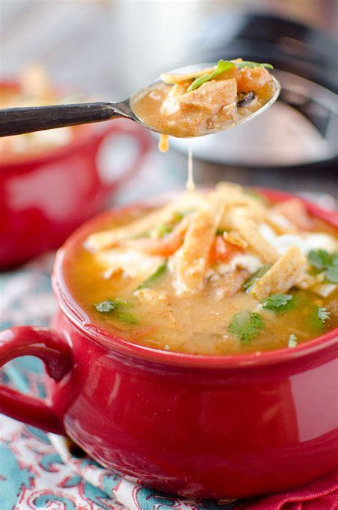 crockpot tortilla soup crock pot chicken tortilla soup page 2 of 2