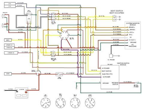 craftsman mower electrical diagram re cub cadet lt1045 pto disengaging lawnmowers