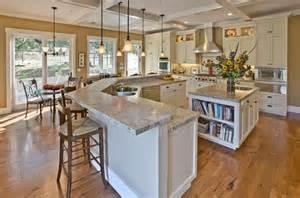 2 tier kitchen island 44 kitchen designs and ideas