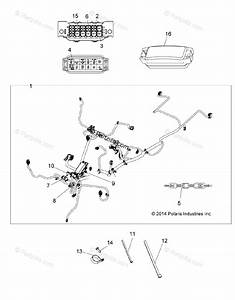 Polaris Atv 2015 Oem Parts Diagram For Electrical  Main