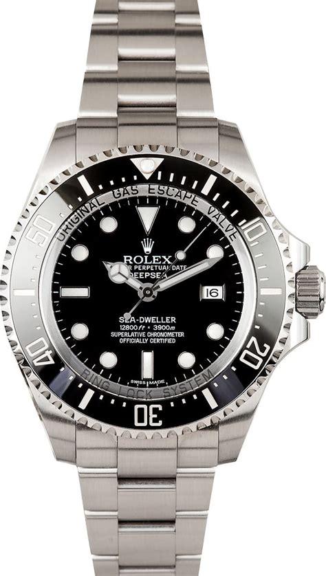 rolex sea dweller deep sea  pre owned