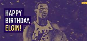 Elgin Baylor's Birthday Celebration | HappyBday.to