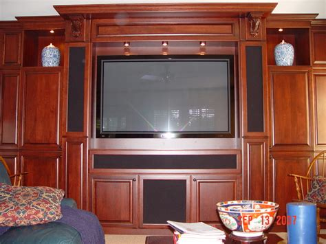 Florida Home Theater Cabinets  Living Room  By Florida