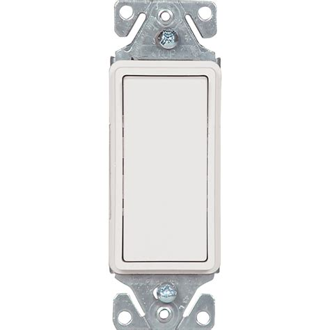 Shop Cooper Wiring Devices Amp White Single Pole