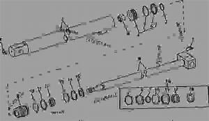 Lift Cylinder -  U88c5 U8f7d U673a Uff0c U519c U573a John Deere 245 - Loader  Farm