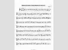 DRAGON BALL Z KAIDRAGON SOUL!!! Sheet Music DRAGON